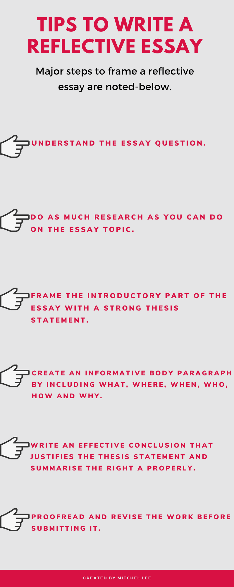 How To Write A Reflection Paragraph - arxiusarquitectura