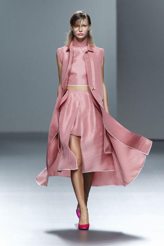 Juan Vidal - Madrid Fashion Week Primavera Verano 2014