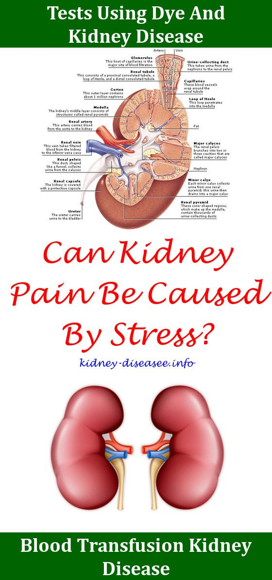 can xanax cause kidney damage
