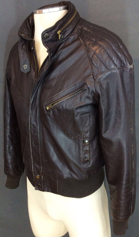 Vintage Cafe Racer Jacket Leather Jacket Vintage Motorcycle Jacket Vintage Biker Jacket Leat Vintage Leather Jacket Cafe Racer Leather Jacket Cafe Racer Jacket