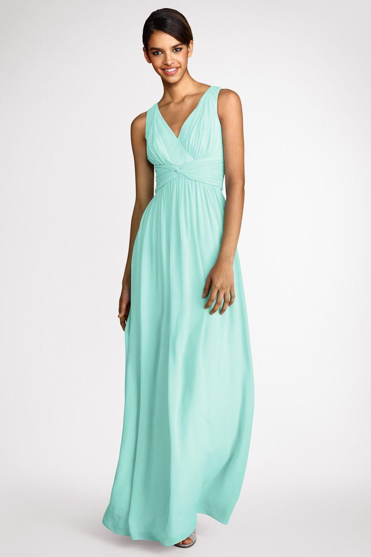Spearmint is a beautiful coastal hue   Bridesmaids - flower girls ...