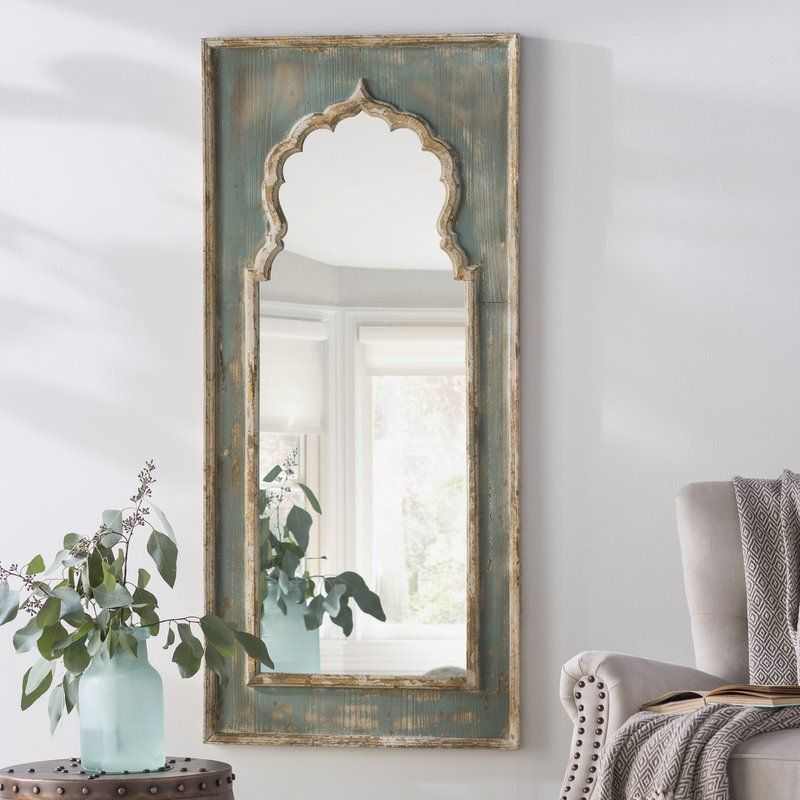 Isabell Painted Wooden Full Length Mirror Wood Full Length Mirror Wooden Mirror Frame Full Length Mirror