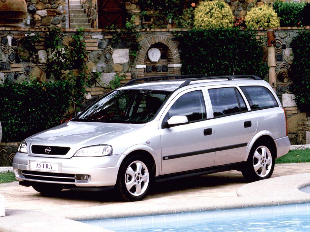 Opel Astra Caravan Sportsline G 2002 Car Opel Vauxhall