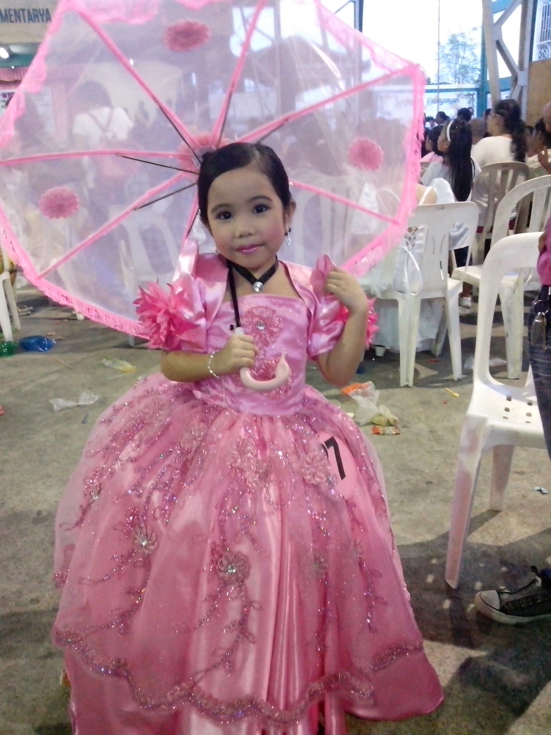 filipiniana gown with lace umbrella   costumes, gowns etc ...