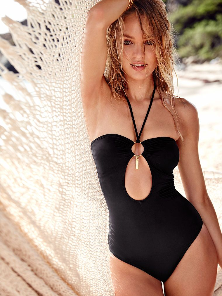 a9a6ad8f082a3 Cut-out Halter One-piece - Forever Sexy - Victoria s Secret ...
