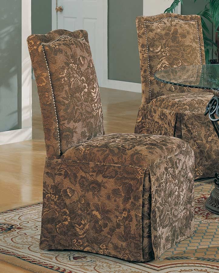 Awesome Coaster Slauson Upholstered Parson Chair   Fabric C 190072 At .