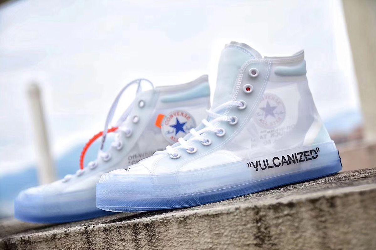 Off White X Converse Chuck Taylor All Star Hi 1970s For Sale Off White Converse White Chucks Hype Shoes