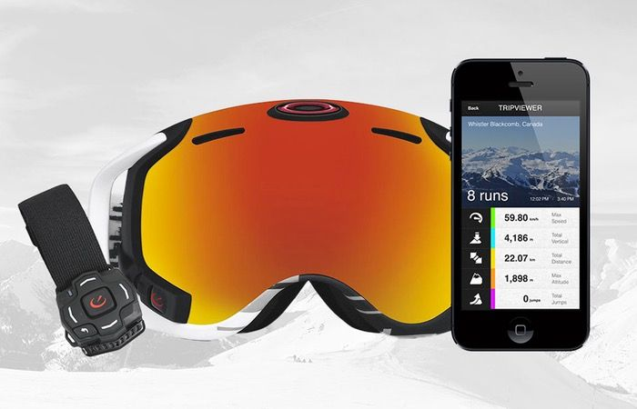 f300a7db69 New Oakley Airwave 1.5 Ski Goggles Now Available For  649 - The Oakley  Airwave 1.5 is equipped with a heads-up-display (HUD) that is projected  onto the ...