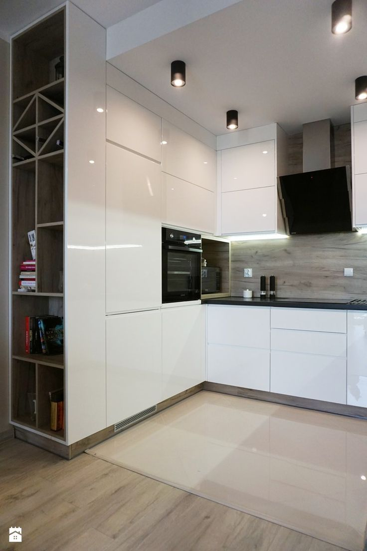 Very nice small kitchen. Super space saving idea with the built-in ...