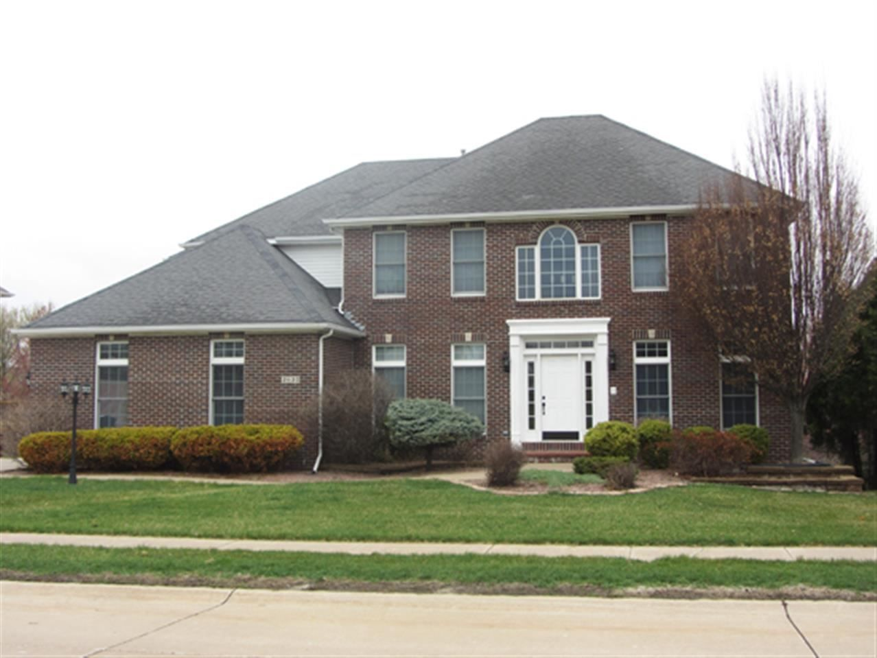 Bettendorf Iowa Real Estate For Sale Stately Brick Home With A