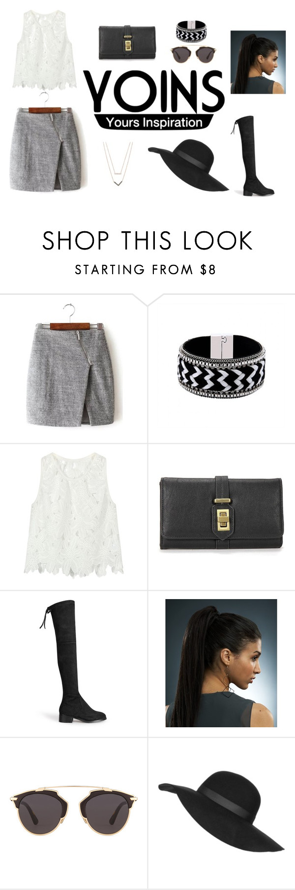 """Untitled #12"" by asija25 ❤ liked on Polyvore featuring Christian Dior, Topshop, Michael Kors, women's clothing, women's fashion, women, female, woman, misses and juniors"