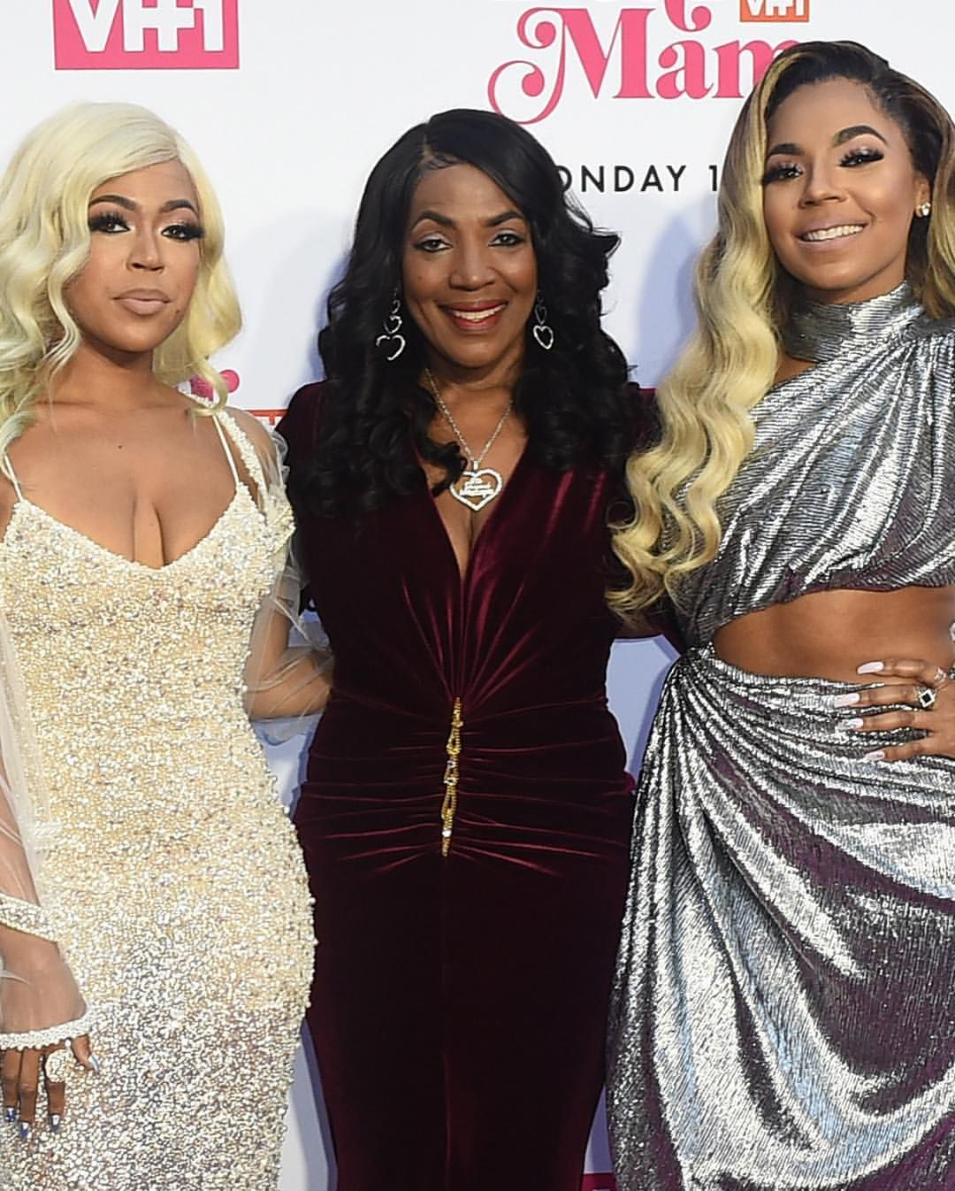 Ciara Ashanti Monica T I H E R And Tiny Celebrate Mothers
