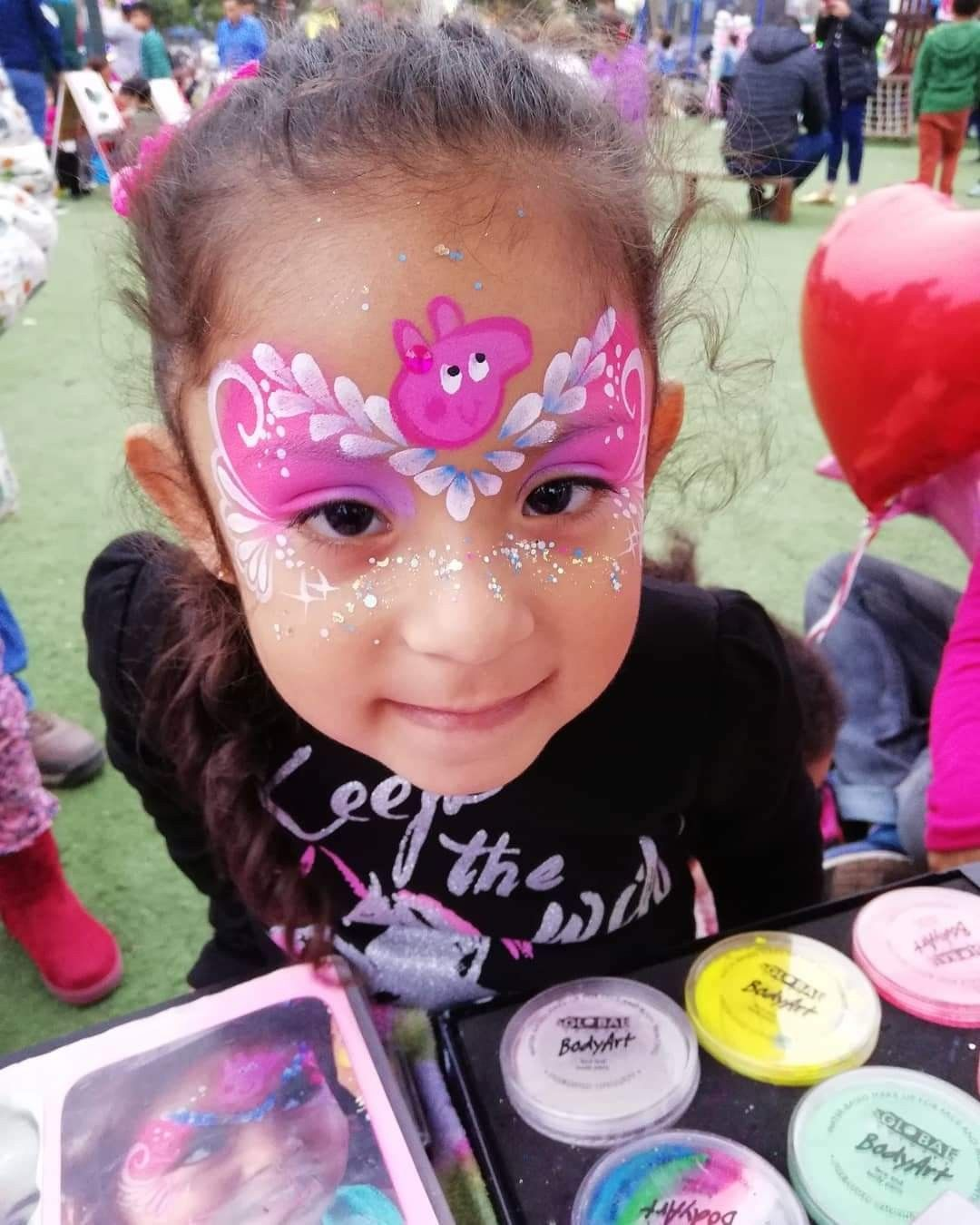Pin By Karina Dominguez On Face Painting Pig Face Paint Face