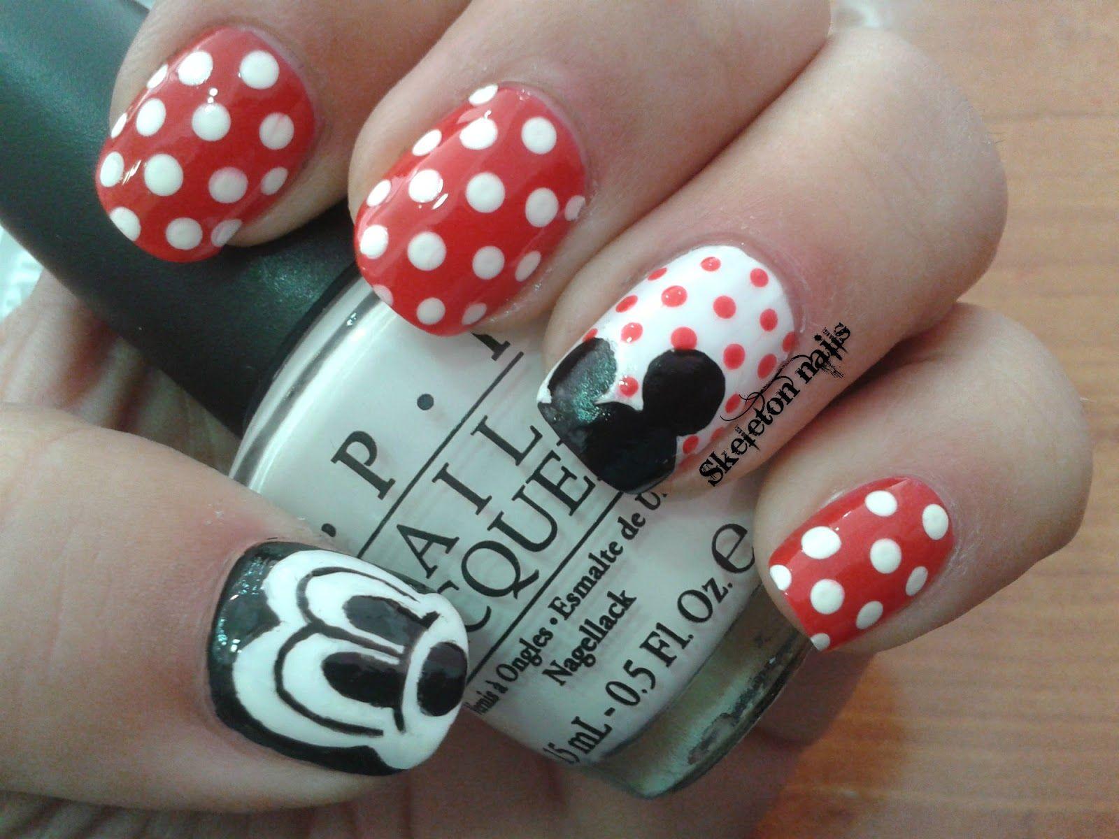 Mickey nagels - Nailed it   Pinterest - Mickey nagels, Nagel en Ideeën