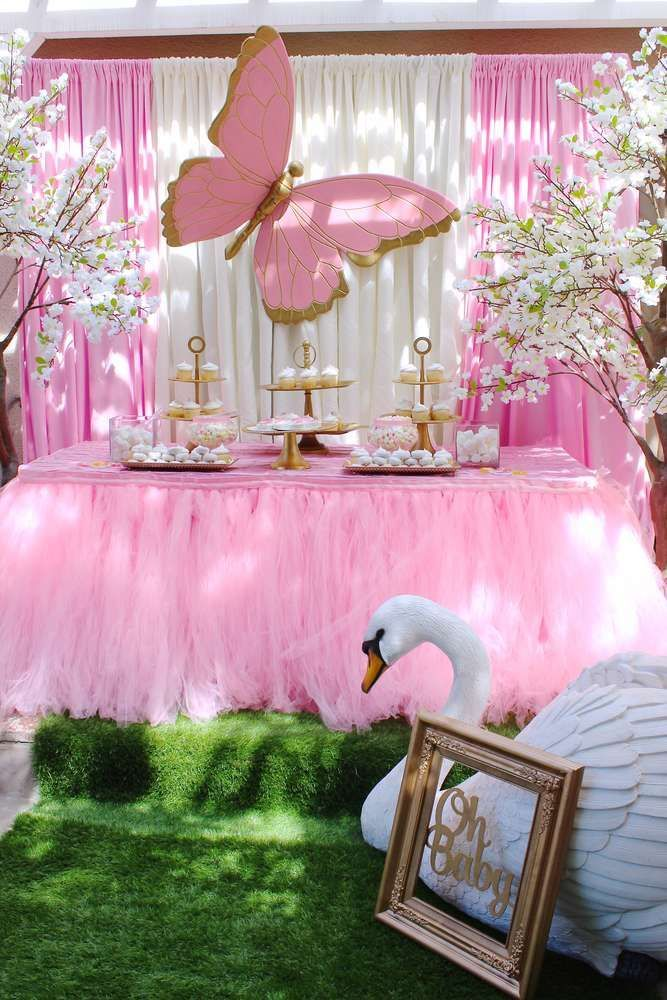 Butterflies Baby Shower Party Ideas in 2019 | Baby shower ...