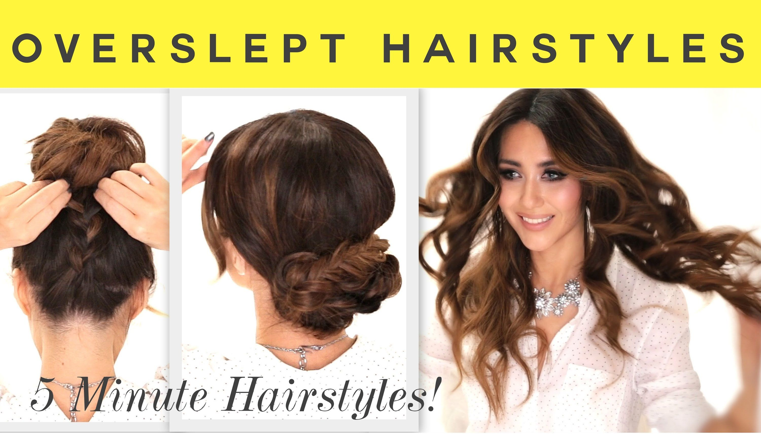 Hair tutorial easy hairstyles for backtoschool how to curl your