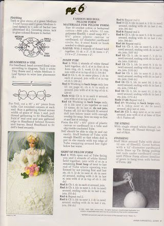 Photo: Bride doll gown - pg 6