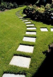 64 Trendy garden design layout landscaping walkways stepping stones #steppingstonespathway