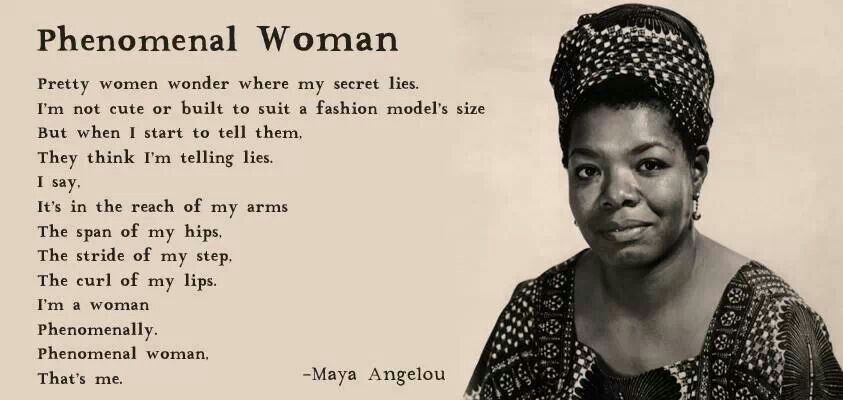 Maya Angelou Quotes About Women Maya Angelou, Phenomenal Woman | Word | Maya angelou quotes, Maya  Maya Angelou Quotes About Women