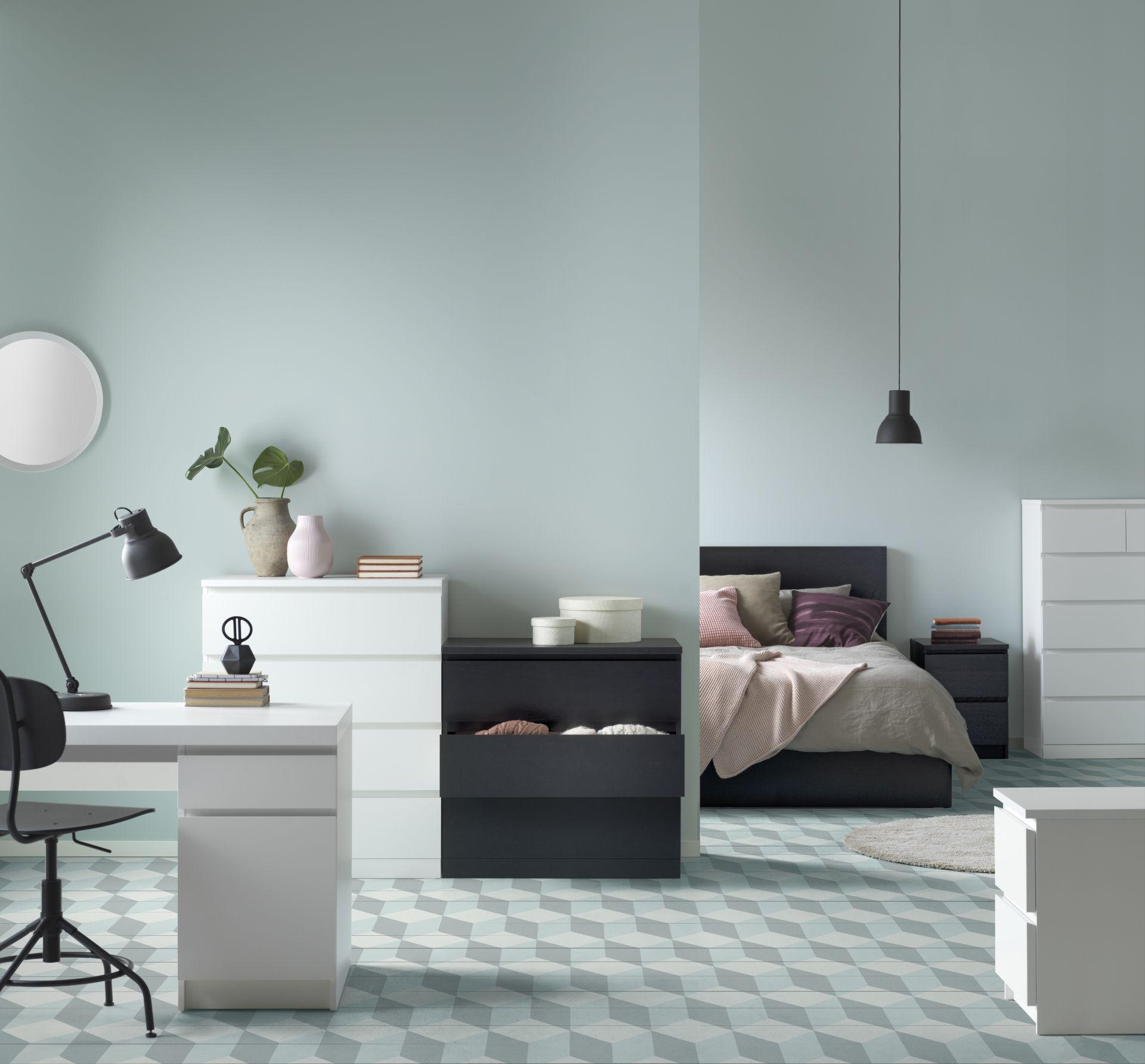 MALM Ladekast 3 lades, wit | Babette | Designdroom | Pinterest ...