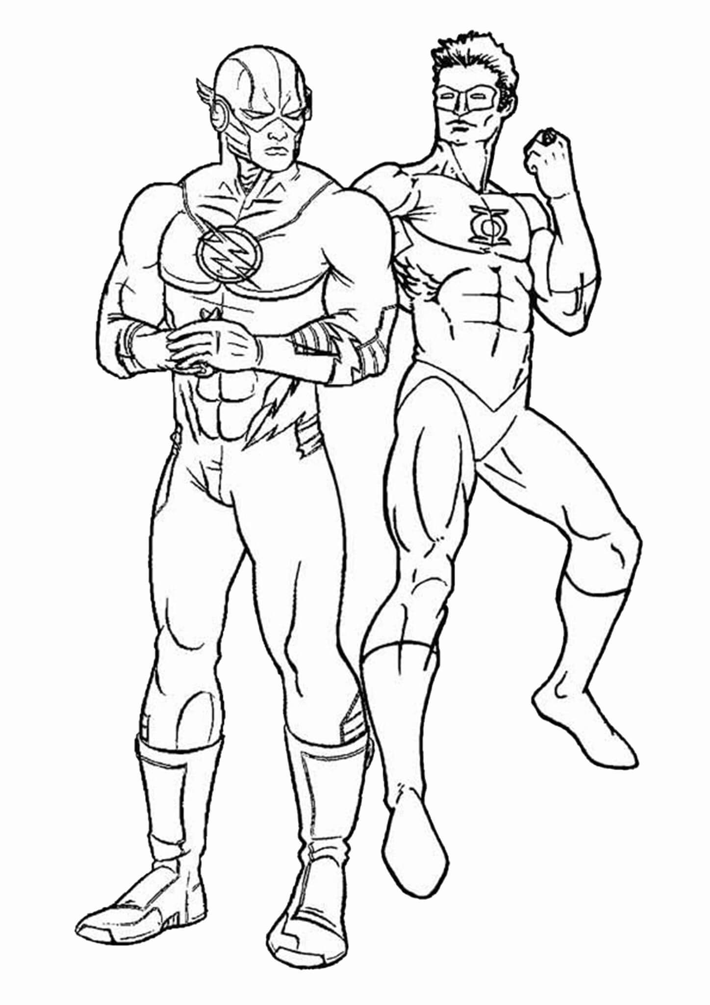 Free Easy To Print Flash Coloring Pages Superhero Coloring Pages Superhero Coloring Cartoon Coloring Pages