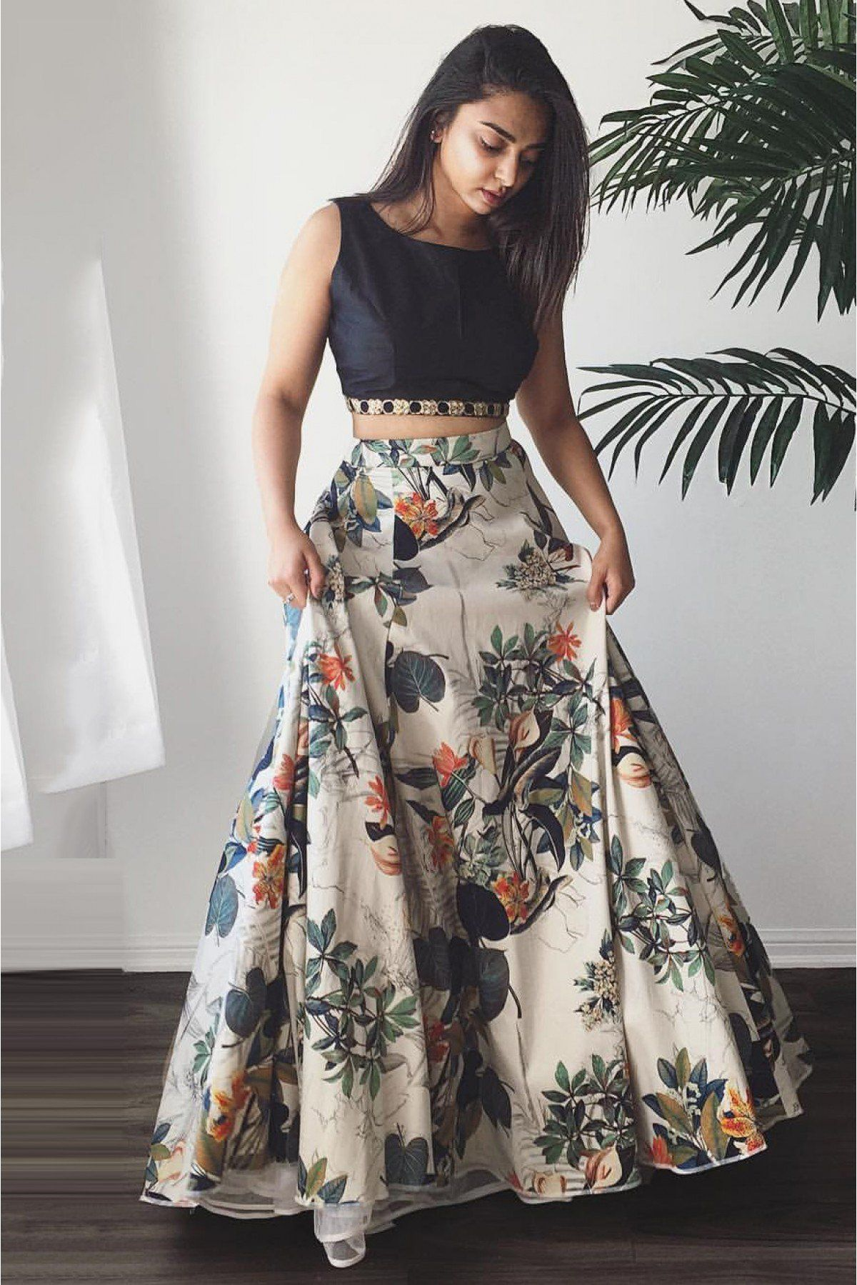 11482b5e40 The Latest Wedding Trend- Crop Top Lehengas | Zeel Clothing | Indian ...
