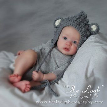 7e74eee5e4f Melondipity Boys Cuddly Little Mouse Crochet Baby Hat - Gray Knit Animal  Beanie with White Ears and Gray Braids - One Infant Size - 0-12 months  Melondipity ...