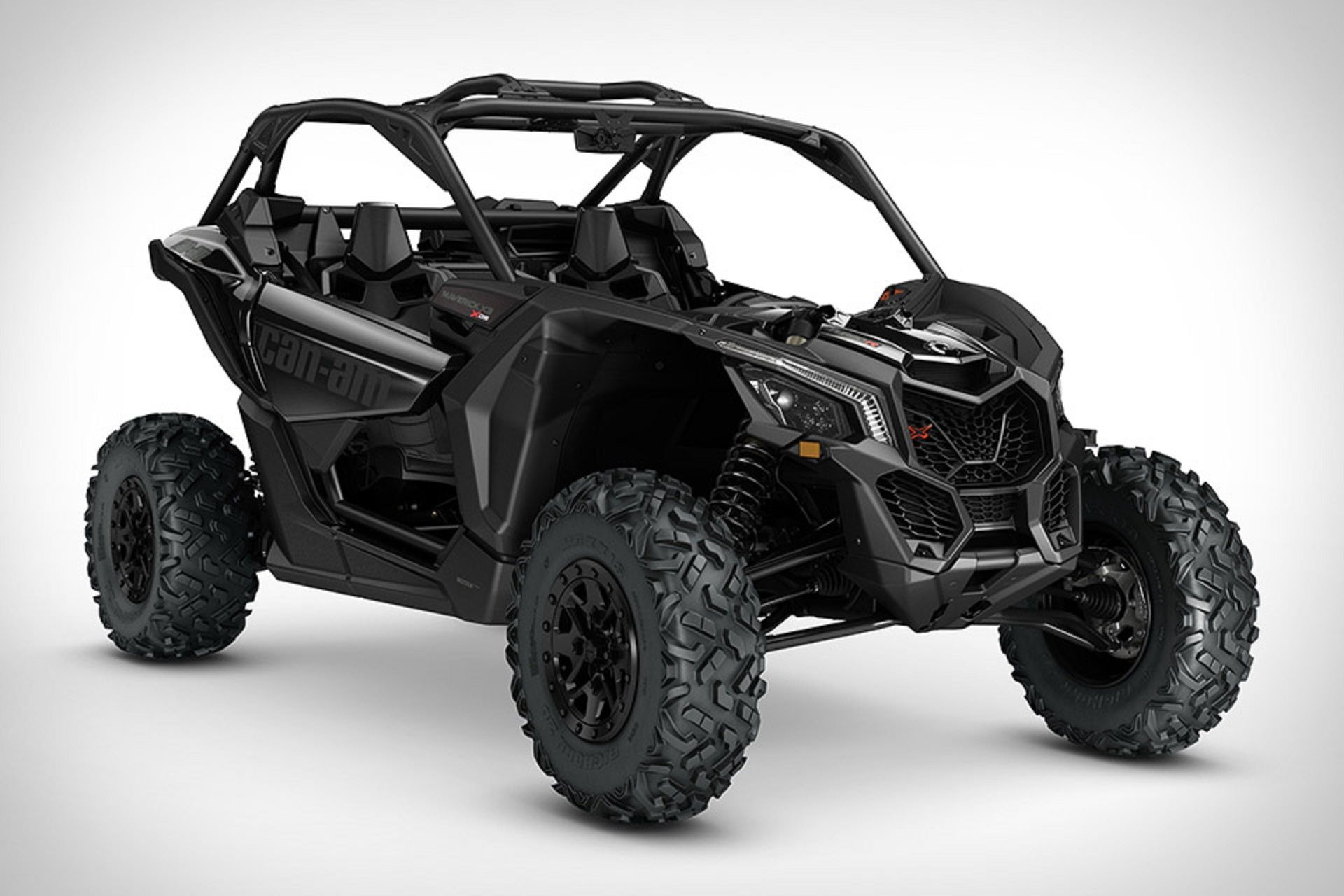 Powered by an all new 154 hp turbocharged rotax engine the can am maverick atv is far from your average four wheeler this side by side is capable of