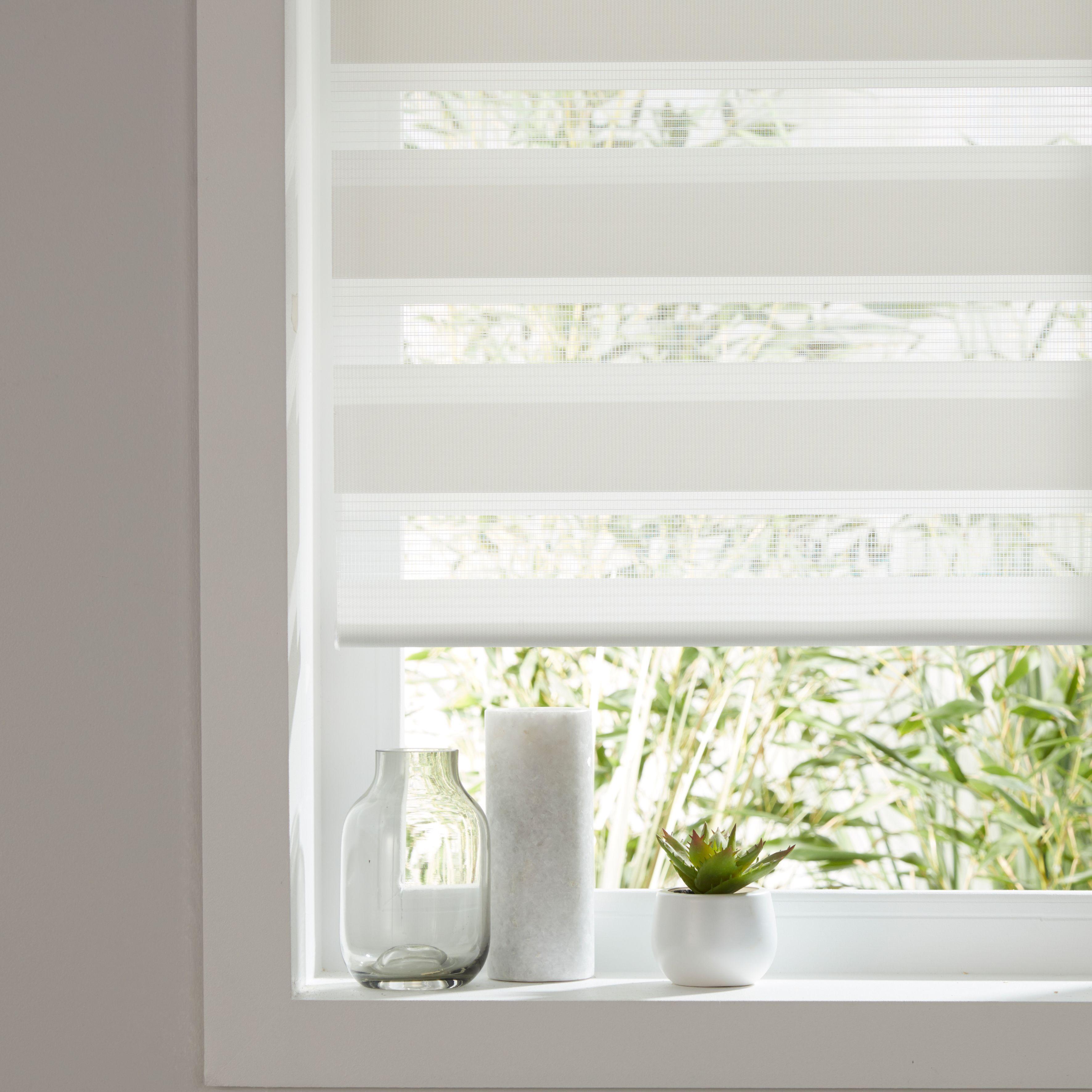 White Blackout Blinds Bathroom Blinds Indoor Shutters Living Room