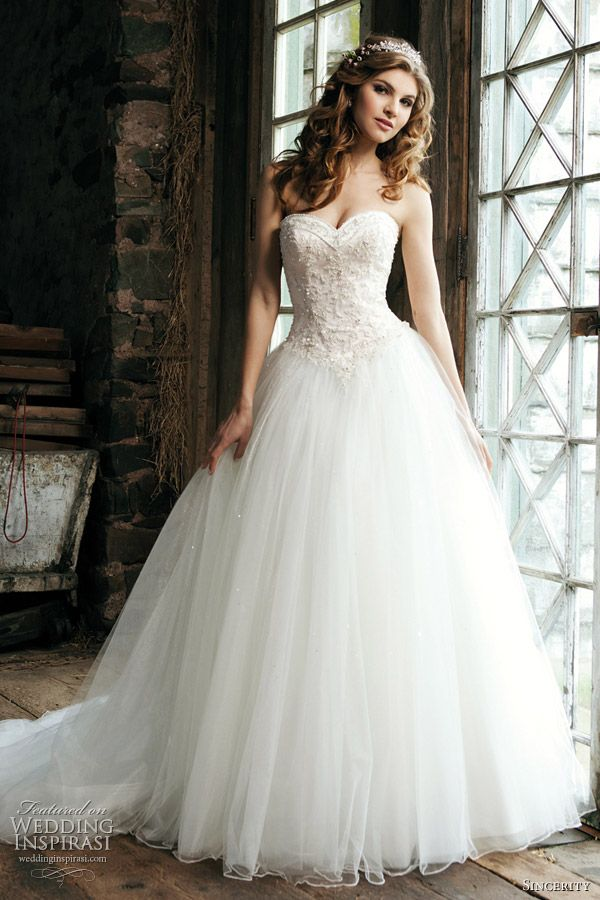 Princess Wedding Dresses 2012