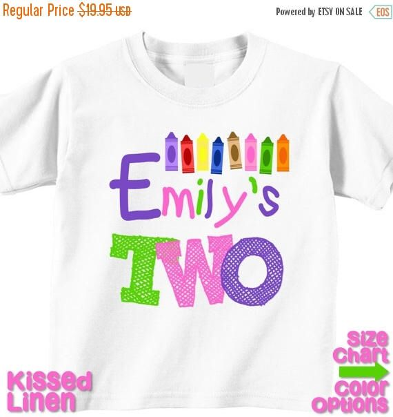 bc4d0bf8551 Pin by Michelle Arcentales on Sofi's Crayon Birthday   Party shirts ...
