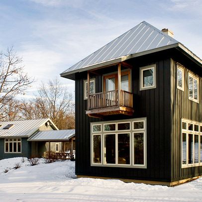 black house silver metal roof | Living and Master Bedroom ...