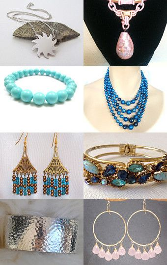 teamvintageusa  First Day Of Summer Jewelry Picks by Wendy on Etsy--Pinned with TreasuryPin.com