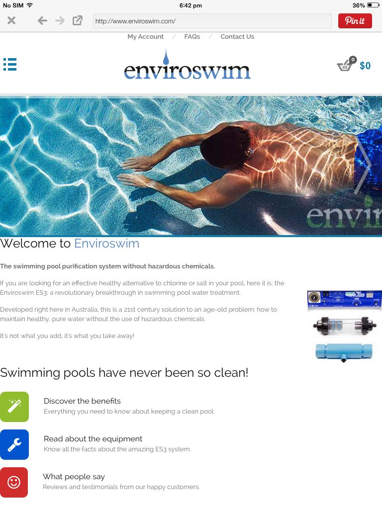 I Have One And No Chemicals It Really Is Fantastic Swimming Pool Water Water Treatment Pool Water