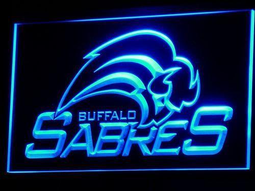 Buffalo Sabres Logo LED Neon Sign - Legacy Edition