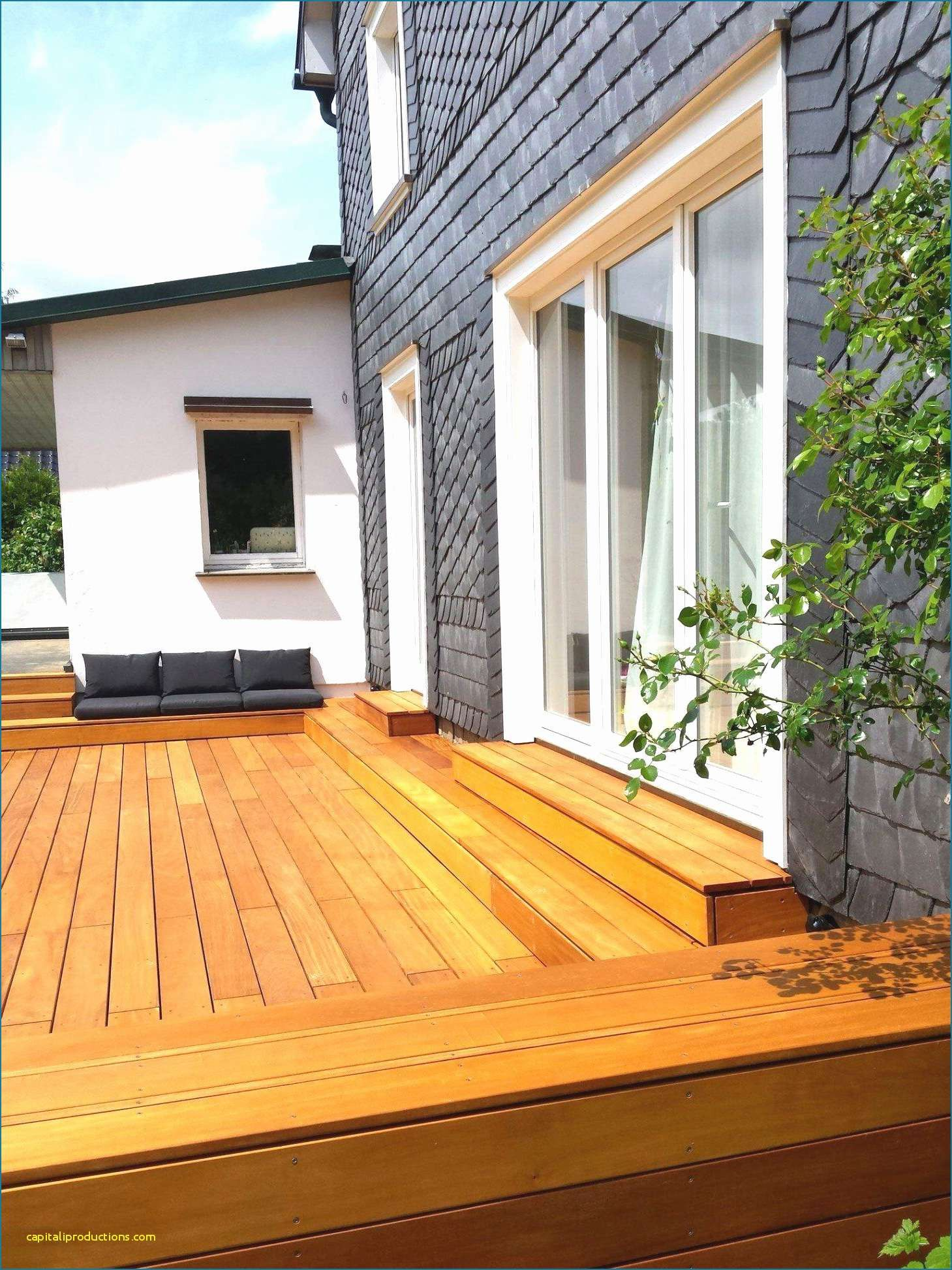 Bauhaus Sichtschutz Holz Sichtschutzzaun B X H 180 X 150 Cm