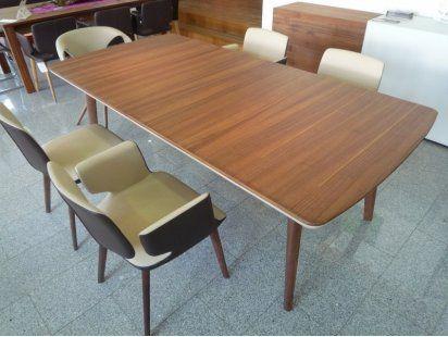 team 7 esstisch flaye in nussbaum tische pinterest. Black Bedroom Furniture Sets. Home Design Ideas