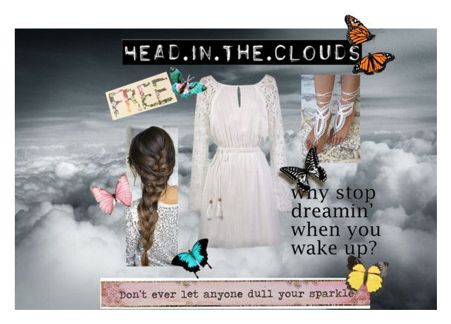 """""""Head in the clouds hippie"""" by shanoonflower ❤ liked on Polyvore featuring Aéropostale, Natural Life and Nancy Gonzalez"""