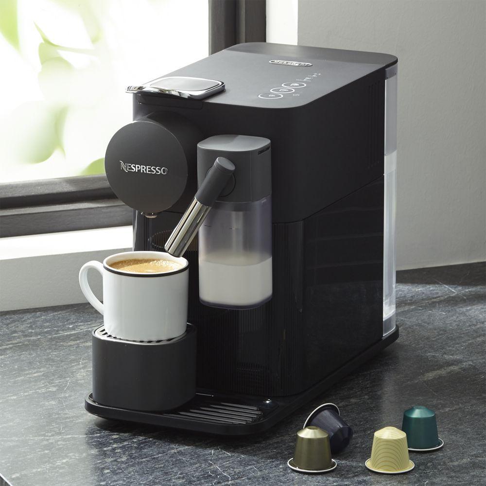 De Longhi Black Lattissima One Espresso Maker Reviews Crate And Barrel Espresso Maker Cappuccino Machine Milk Frother