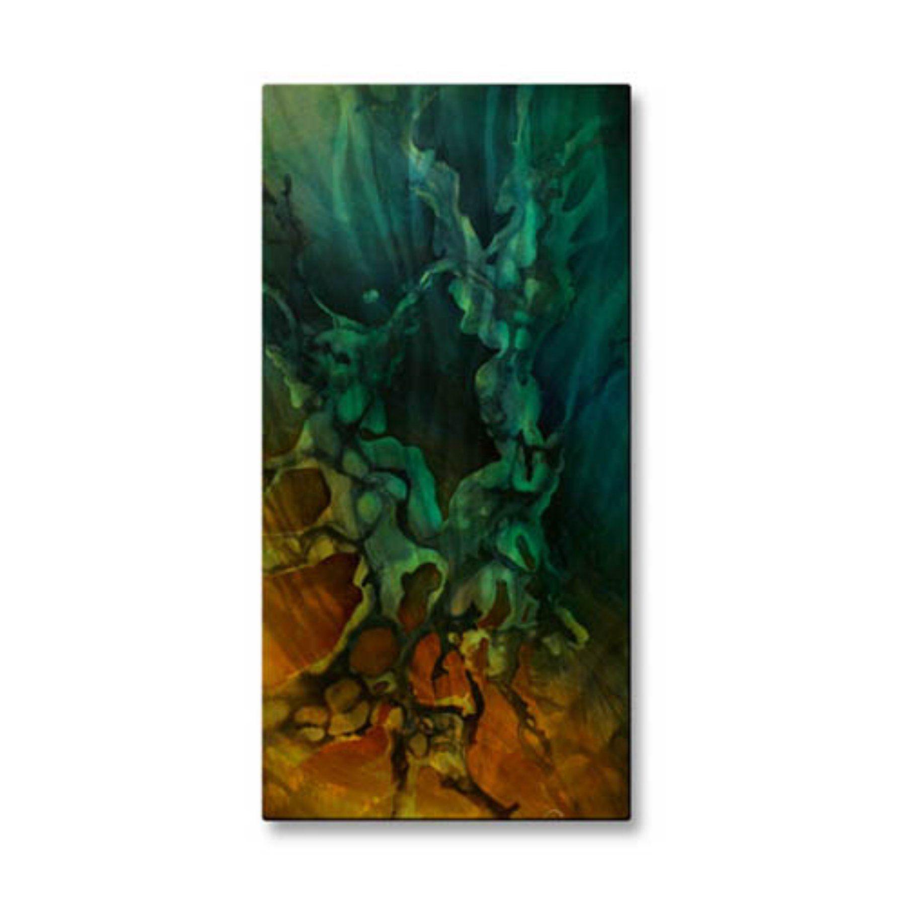 Uproar Metal Wall Art - 12W x 23.5H in. - 0058ME00041