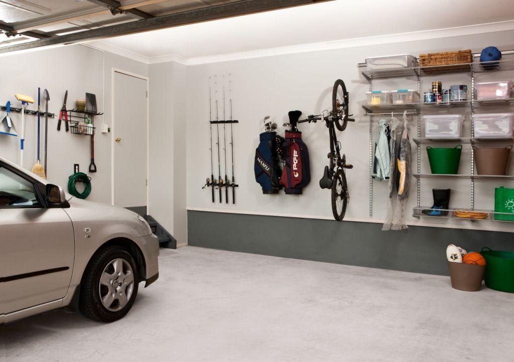 Transforma tu garaje en un cuarto ordenado coloca todo en - Estanterias para garaje ...