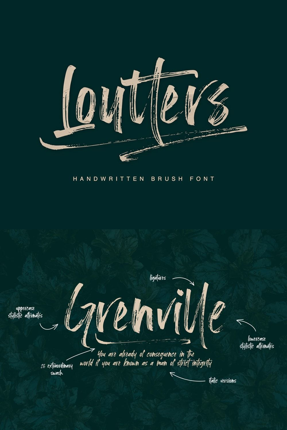Loutters Brush Font Brush Fonts Free Brush Font Free Script Fonts
