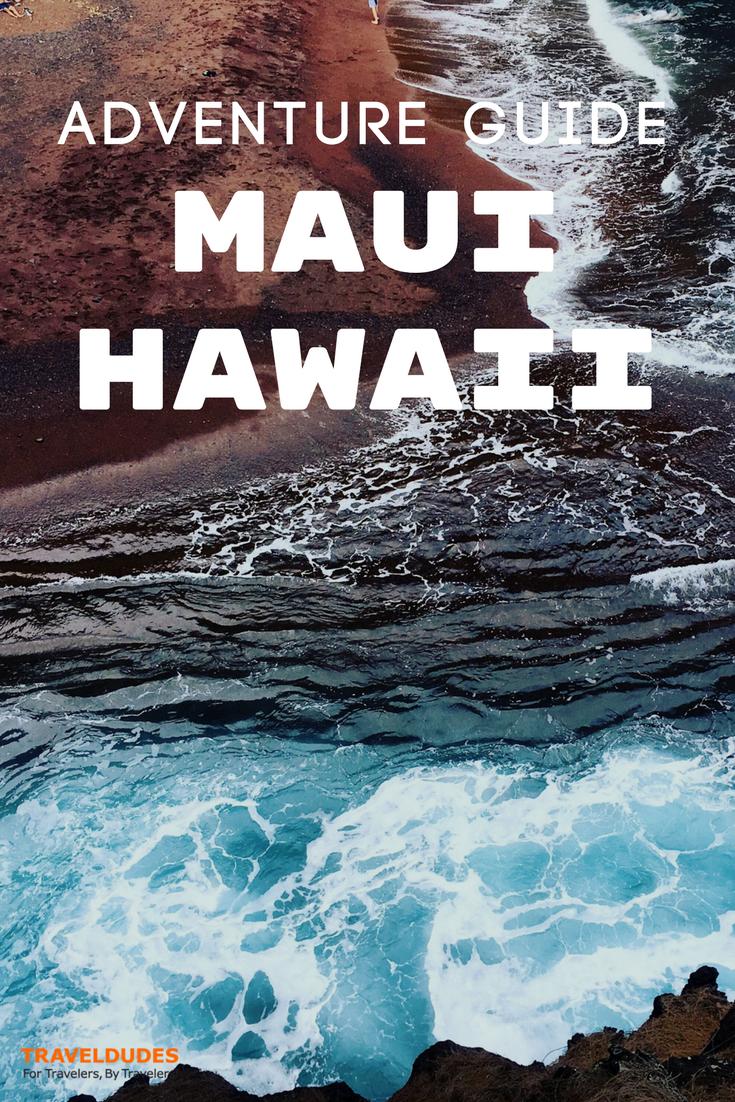 adventure itinerary: six days in maui, hawaii | pinterest | hawaii