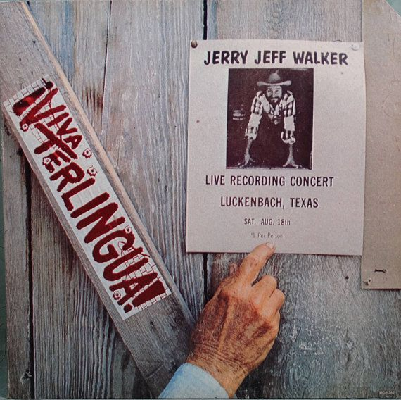 Jerry Jeff Walker Viva Terlingua 1973 Lp Album Vinyl
