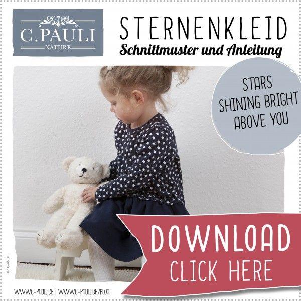 Download Schnittmuster Kinder Sternenkleid | nähen | Pinterest ...