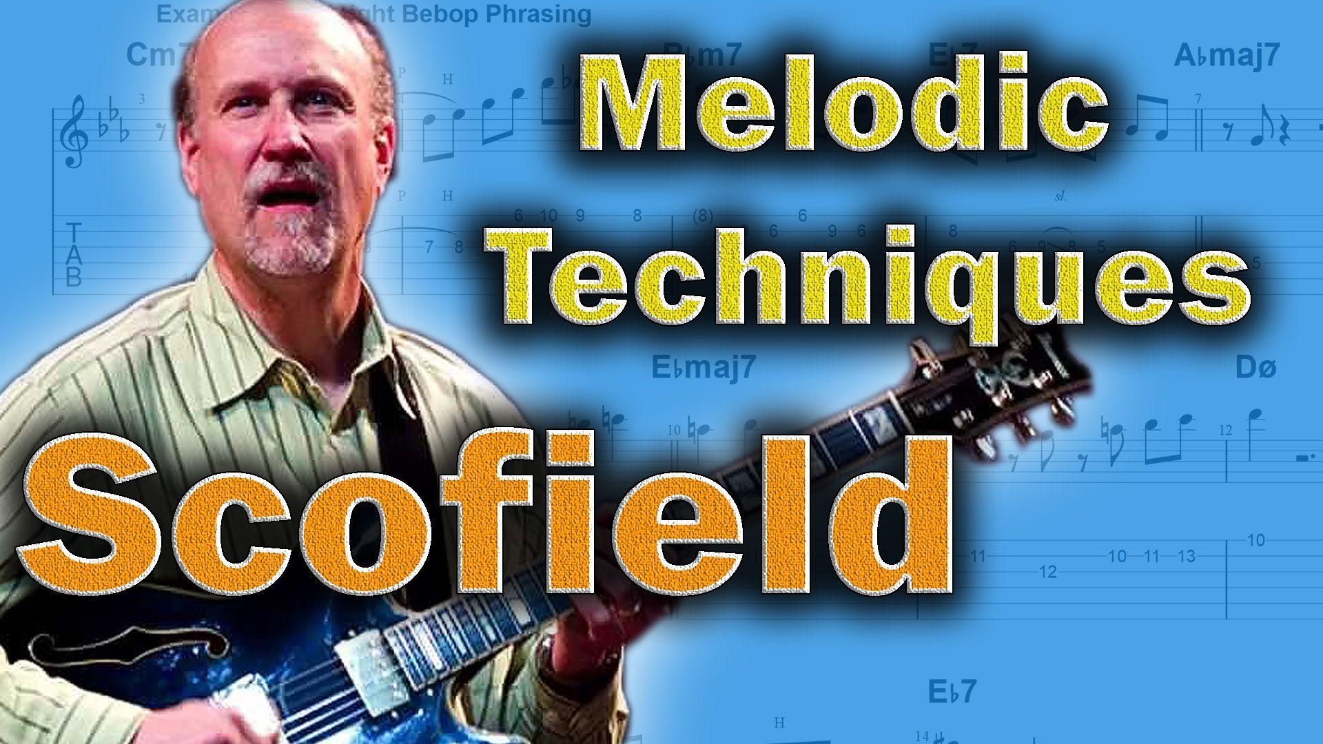 New Video 🙂 John Scofield How To Mix Bebop And Pentatonics