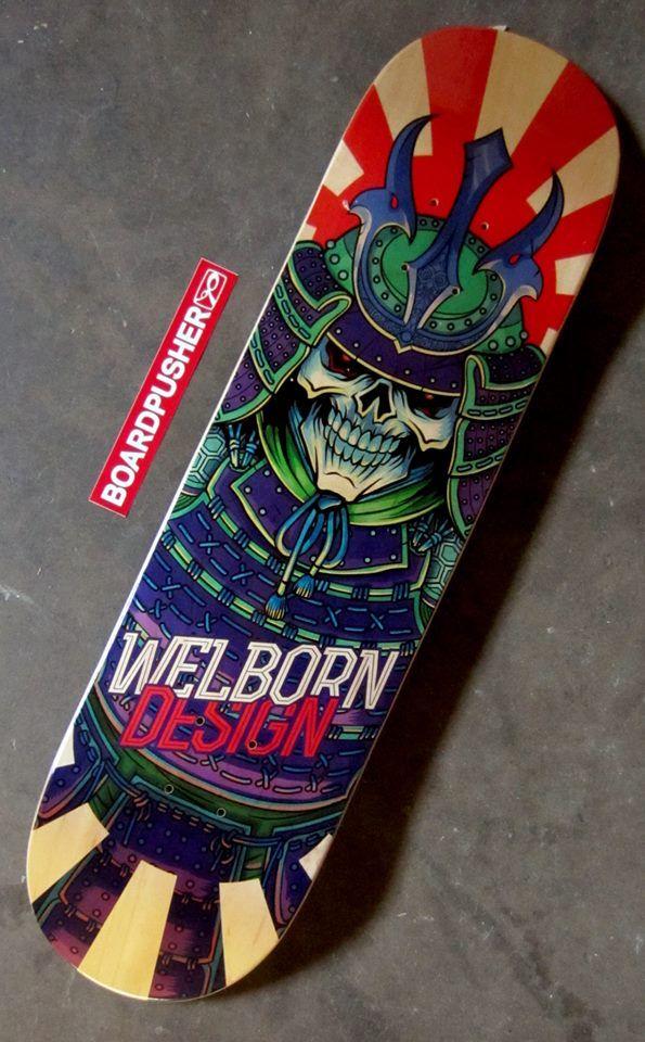 Samurai Deck | Skateboard Created by Jamesgonda | Custom