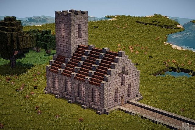 Simple Church Minecraft Project Minecraft Minecraft Minecraft