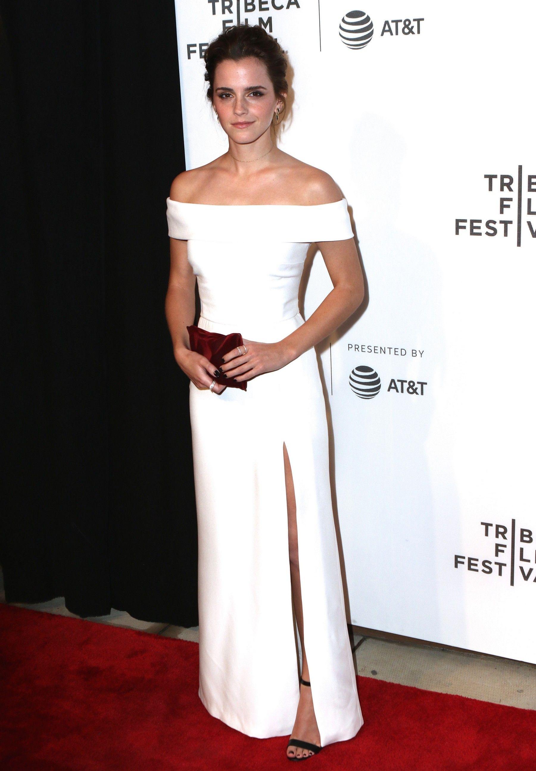 "Emma Watson, Tribeca Film Festival ""The Circle"" Premiere"