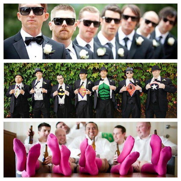 Love the Super Hero wedding guys
